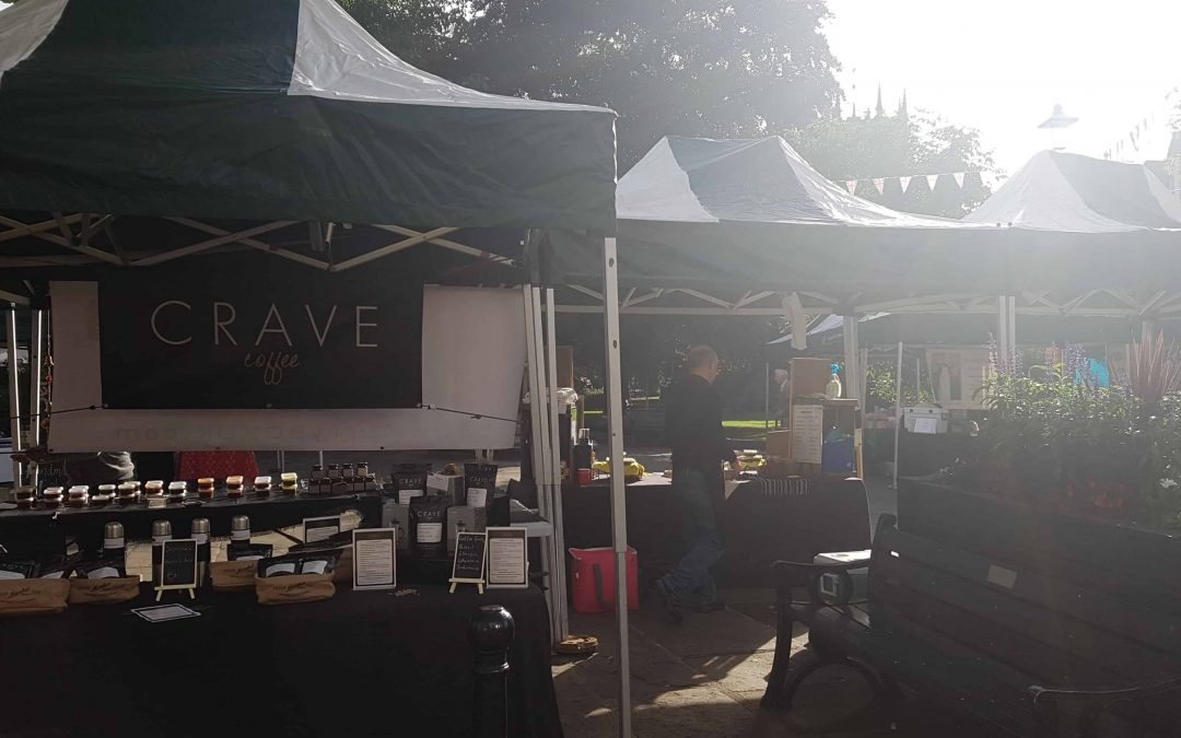 Crave Coffee: Monthly Farmer Market at Nantwich